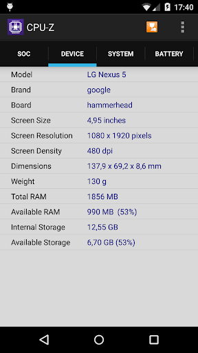 Download CPU-Z 1.29 Free Download APK,APP2019