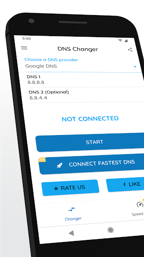 Download DNS Changer (no root 3G/WiFi) 1090r Free Download APK,APP2019
