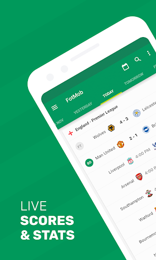 Download FotMob - Live Soccer Scores 100.0.6586.20190504 Free Download APK,APP2019