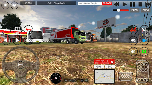 Download IDBS Indonesia Truck Simulator 3.0 Free Download APK,APP2019