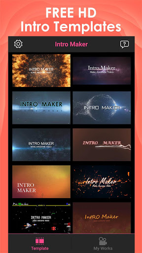 Download Intro Maker for YouTube - music intro video editor 2.1.6 Free Download APK,APP2019