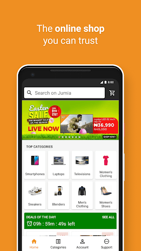 Download JUMIA Online Shopping 5.1 Free Download APK,APP2019