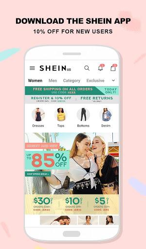 Download SHEIN-Fashion Shopping Online 6.6.2 Free Download APK,APP2019