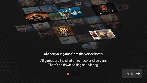 Download Vortex Cloud Gaming 1.0.239 Free Download APK,APP2019