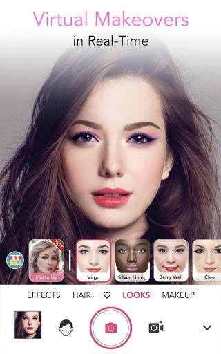 Download YouCam Makeup - Magic Selfie & Virtual Makeovers 5.30.5 Free Download APK,APP2019