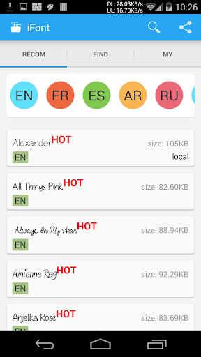 Download iFont(Expert of Fonts) 5.9.8.2 Free Download APK,APP2019