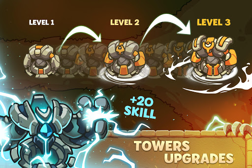Download Empire Warriors: Tower Defense TD Strategy Games 2.1.5 APK For Android