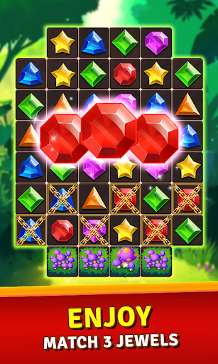 Download Jewels Jungle Treasure : Match 3 Puzzle 1.6.2 APK For Android
