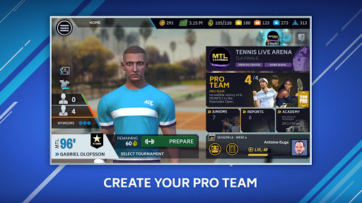 Download Tennis Manager 2020 – Mobile – World Pro Tour 1.15.4356 APK For Android