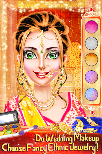 Download Traditional Wedding Salon - Makeup & Dress up Game 2.1.6 APK For Android