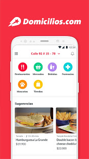 Domicilios.com - Delivery App 5.0 and up