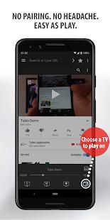 Tubio - Cast Web Videos to TV, Chromecast, Airplay 2.53