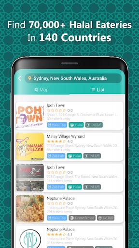 Download Halal Local: Halal Food Worldwide Qibla Salat Trip 5.2.1 APK For Android