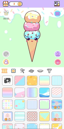 Download Kawaii Food Factory: Cute Food Fashion Dress up 1.0.1 APK For Android