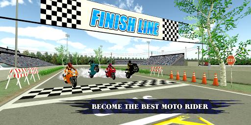 Download Motorway Bike Hurdle Racing: Gold Medal Podium 3D 1.0 APK For Android