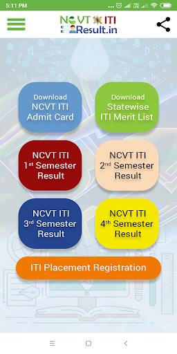 Download NCVT ITI Result 2020 5.0 APK For Android
