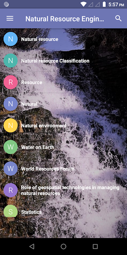 Download Natural Resources Engineering 1.3 APK For Android