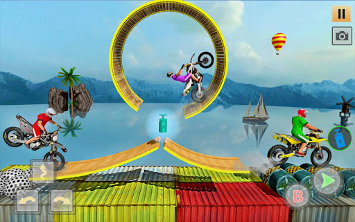 Download New Bike Racing Game - Tricky Bike Games 2020 1.1 APK For Android