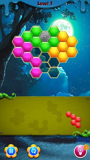 Download Special hexagonal Puzzle 1.6 APK For Android