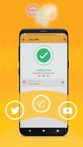 Download VPN : Tiny VPN, VPM Free, Unlimited beternet VPN 2.0.19 APK For Android
