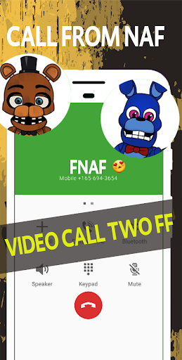 Download video call and chat simulator from scary freddy 1.0 APK For Android