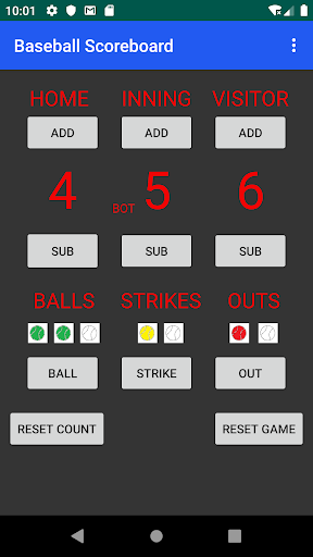 Download Baseball Scoreboard FREE 1.0.5 APK For Android