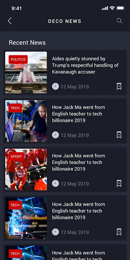 Download Deco News - Ionic 4 Mobile App for Wordpress 0.0.3 APK For Android