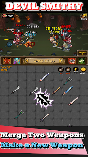 Download Devil Smithy : Merge Idle 1.1.16 APK For Android