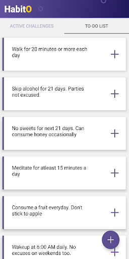 Download HabitO - Smart Habit Maker in 21 days 1.4 APK For Android