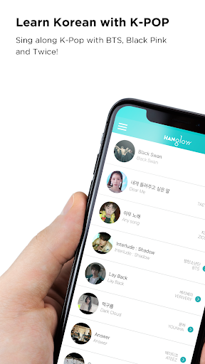 Download Learn Korean by KPop,HANglow 1.2.7 APK For Android