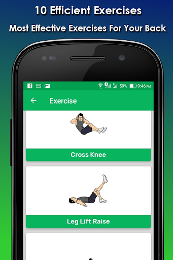 Download Lower Back Pain Relief Exercise 1.0 APK For Android