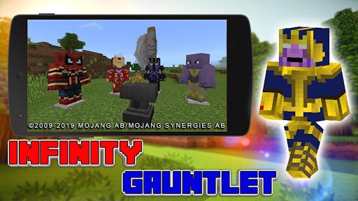 Download Mod Infinity Gauntlet +Bonus 3.0 APK For Android