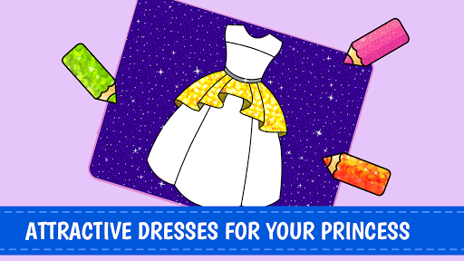 Download Princess Coloring Book 👸🎨 - Games for Girls 🌈 1.0.3 APK For Android