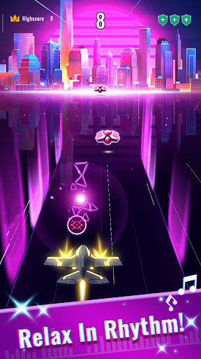Download Rhythm Flight: EDM Music Game 0.8.1 APK For Android
