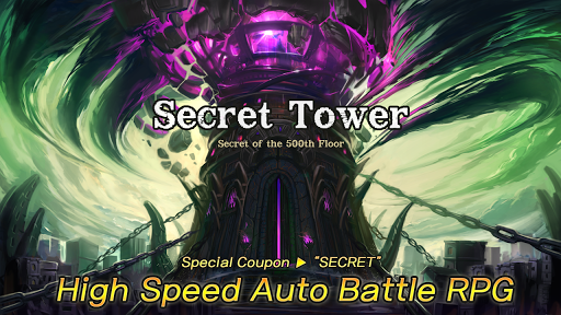 Download Secret Tower 500F (Super fast growing idle RPG) 85 APK For Android