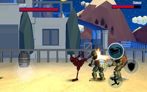 Download Street Night Battle Animatronic Fighter 3 1.2 APK For Android