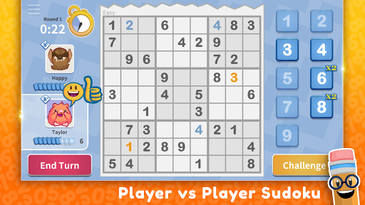 Download Sudoku Scramble - Head to Head Puzzle Game 4.2.12 APK For Android