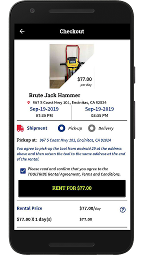 Download TOOLTRIBE - Tool Rental App to Find Tools Near You 4.2 APK For Android