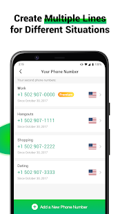 2nd Line: Second Phone Number for Texts & Calls 1.0.2