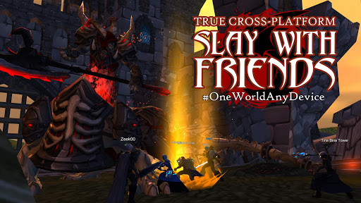 Download AdventureQuest 3D MMO RPG 1.45.0 APK For Android