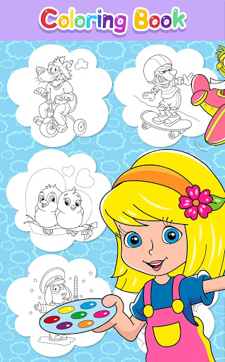Download Beautiful Coloring Book for Kids 0.4.0 APK For Android