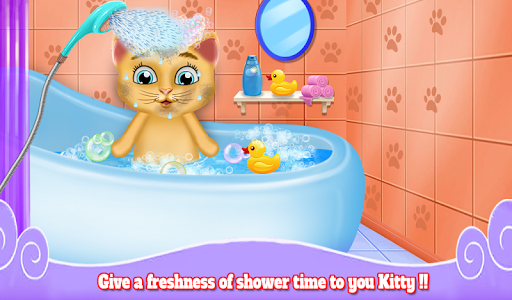 Download Cute Kitten Daycare & Beauty Salon - Fluffy Kitty 1.0.3 APK For Android