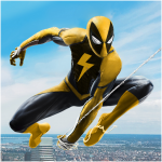 Download Flying Spider Rope Hero - Super Vice Town Crime 1.0.24 APK For Android