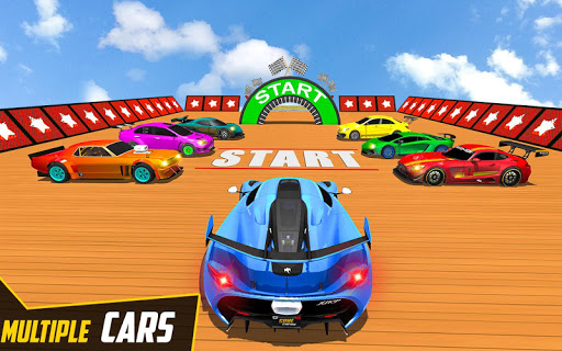 Download Mega Ramp Car Ultimate Races:Free Impossible Stunt 1.01 APK For Android