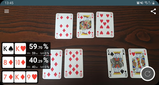 Download Poker Odds Camera Calculator 2.3.0 APK For Android