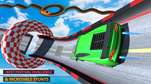 Download Ramp Car Stunt 3D : Impossible Track Racing 1.0 APK For Android