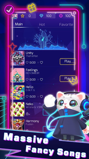 Download Sonic Cat - Slash the Beats🎵🕹️ 1.2.50 APK For Android