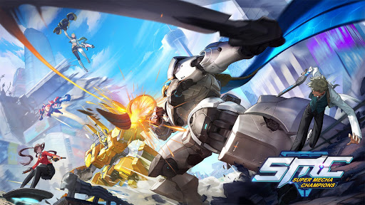 Download 超機動聯盟-Super Mecha Champions 1.0.7590 APK For Android