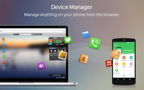 AirDroid: Remote access & File 4.0 and up