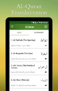 Al Quran Transliteration 1.3